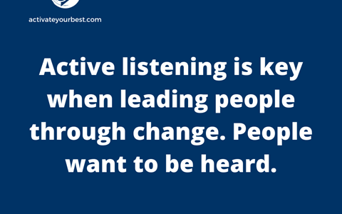 4 Keys to Active Listening